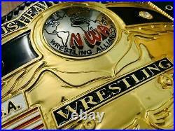 NWA Domed Globe World Heavyweight Wrestling championship belt Replica