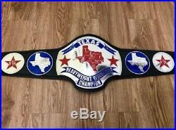 NWA TEXAS Heavyweight Championship Wrestling L. Rplica Belt Adult Size