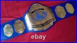 NWA Tag Team Title heavyweight wrestling championship belt 2mm plates
