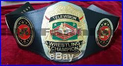 NWA Television Wrestling Championship Belt 4mm Plates