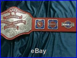 NWA Tv Championship Belt 2mm Zinc Brand New National Wrestling Alliance Title
