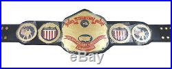 NWA United States Heavyweight Championship Leather Belt Adult Size FREE SHIPPING