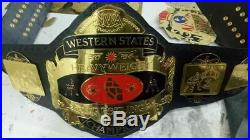 NWA Western States Heavyweight Wrestling Championship Belt Adult Size