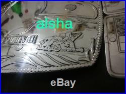 NWA World Heavyweight Championship Belt adult Zinc Plates