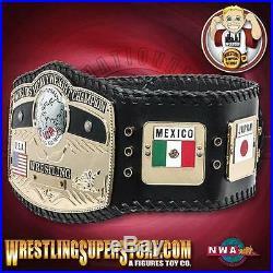 NWA World Heavyweight Championship Ultra Deluxe Adult Size Replica Belt