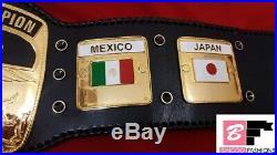 NWA World Heavyweight DOMED GLOBE Wrestling Championship Replica Belt 4MM