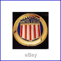 N. W. A. United States Heavyweight Wrestling Title Replica Championship Belt