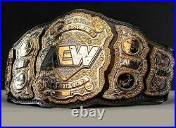 New Aew Title All Elite Wrestling Championship Belt Adult Size Wwe Replica Belt