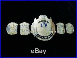 New Hybrid Championship Winged Eagle And Big Eagle Attitude Era 4mm BRASS Belt