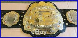 New Iwgp Heavyweight Championship Belt Dual gold Plated Adult Size