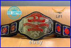 New NWA Television Heavyweight Wrestling Championship Belt Replica BLACK Adult