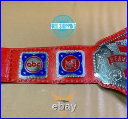 New NWA Television Heavyweight Wrestling Championship Belt Replica RED Adult