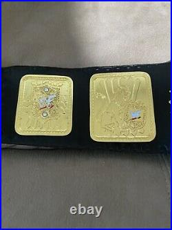 New Scratch Logo Attitude Era Big Eagle Championship Belt 4mm Brass Replica