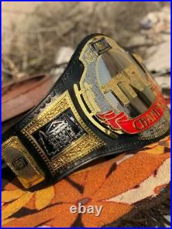 New TNT Championship Wrestling Replica Leather Belt Original Leather (Rplica)