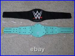 New Wwe Authentic Blue Winged Eagle Metal Adult Replica Championship Title Belt
