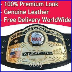 Nwa Domed Globe World Heavyweight Championship Belt Brass Adult Size Replica