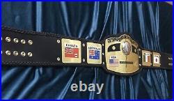 Nwa Domed Globe World Heavyweight Wrestling Championship Belt Adult Size