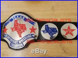 Nwa Texas Heavyweight Championship Wrestling Belt Adult Size