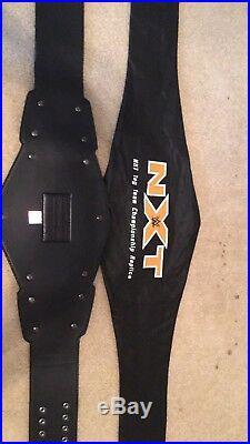 Nxt championship tag team belt Replica