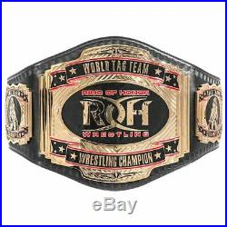 Official Ring of Honor Complete Set of 4 Championship Adult Size Replica Belts