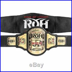 Official Ring of Honor World Television Championship Adult Size Replica Belt