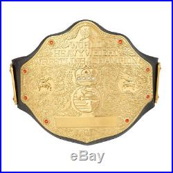 Official WWE Authentic World Heavyweight Championship Replica Title Belt 2mm