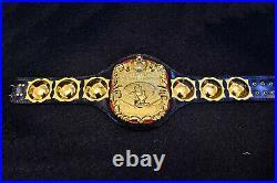 Old Unique NWA United National Championship Belt for Adult Champion 3D Engraving