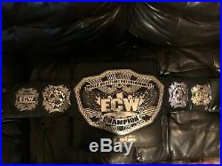 RARE 2010 WWE ECW World Heavyweight Championship Adult Replica Title Belt