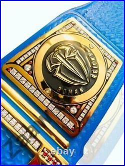 Raw Universal HeavyWeight Championship Belt Replica Roman Reigns Side Plates