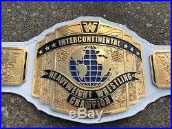 Real Dave Millican Intercontinental Fwf Championship Wrestling Belt Wwf Style