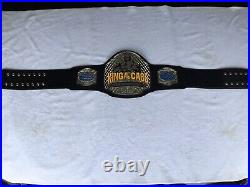 Real King Of The Cage MMA Championship Wrestling Championship Belt
