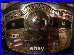 Real NWA Heavyweight Championship Wrestling Belt by Dave Millican