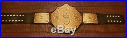 Real Official WWE WCW Big Gold World Heavyweight Championship Replica Belt 4mm