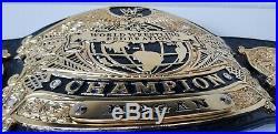 Real WWF Undisputed World Heavyweight Championship Belt signed by Hulk Hogan USA