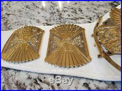 Real WWF Winged Eagle World Heavyweight Championship Belt Gold American Leather