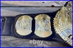 Real Winged Eagle/big Eagle Hybrid Championship Wrestling Belt Dual Plated