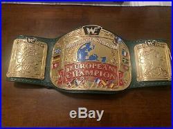 Real Wwf European Championship Belt