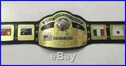 Replica NWA World Heavyweight Championship Wrestling Belt Adult Size Hand Made