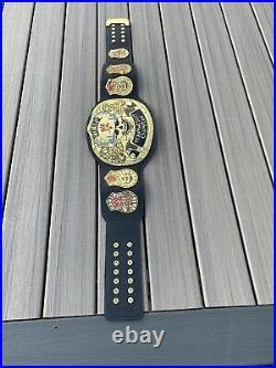 Smoking Skull World Heavyweight Wrestling Championship Belt 4mm Replica 6lb