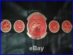 Southern heavyweight wrestling championship belt