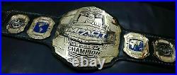 TNA IMPACT WORLD CHAMPIONSHIP CHROME LEATHER Replica BELT
