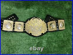 TNA World Heavyweight Championship Wrestling Replica belt 4mm Zinc