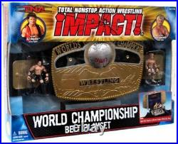 TNA Wrestling Impact Playsets World Championship Belt Action Figure Playset