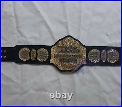 TNA heavyweight Wrestling championship belt Double Layer. Adult size(4mm Zinc)