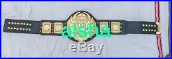TNA heavyweight wrestling championship belt Adult Zinc 4mm Plates