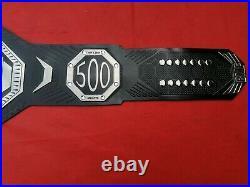 UFC BMF Replica Belt Brass Plates Title Leather Championship Belt, Adult Size