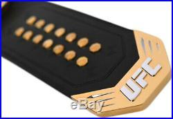 UFC Legacy Championship Replica Title Belt 4mm Plates Genuine Cow Hide Leather