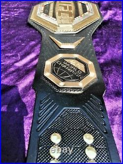 UFC Legacy Championship Replica Title Belt triple layer thick plates 3D