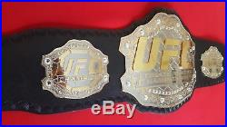 UFC Ultimate Fighting Championship Leather Belt Replica Adult Size