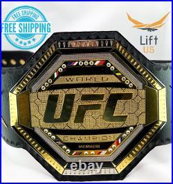 Ufc Legacy Championship Relica Title Belt World Ufc Champion 2mm Brass New